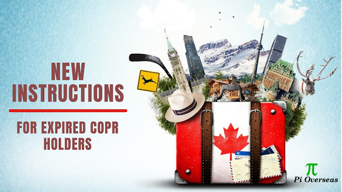 New Instructions For Expired COPR Holders