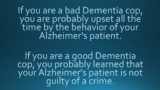 Dementia Care Good Cop Bad Cop