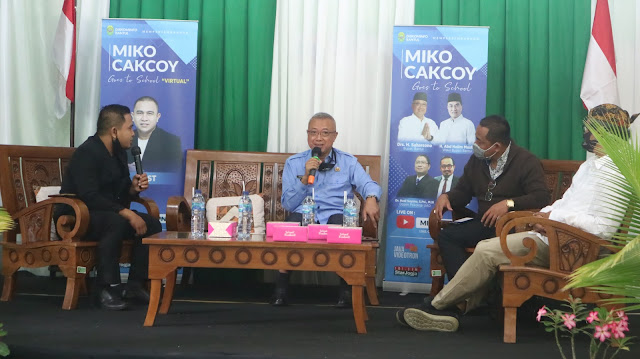 "Dialog Virtual ""Miko Cakcoy Goes to School SMAN 1 Pundong"