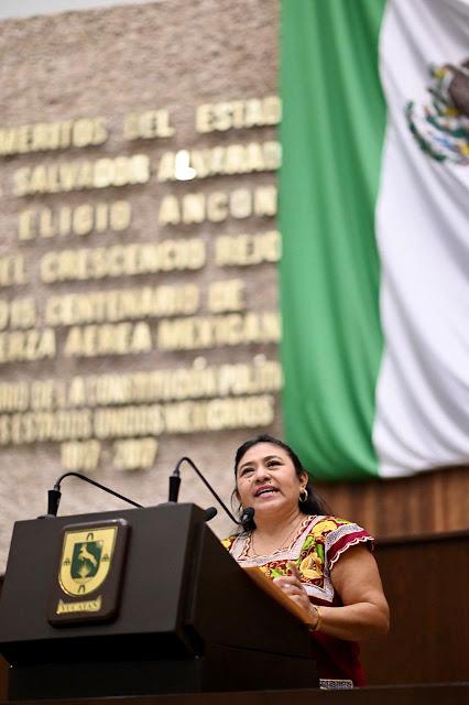 diputada Leticia Euán Mis (Morena)