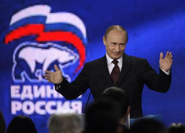 раз роль правящей партии до сих пор играет «Единая Россия», значит она угодна президенту
