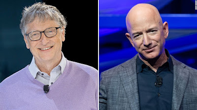Bill Gates Officially Tops Jeff Bezos As Richest Person In The World - See Full List