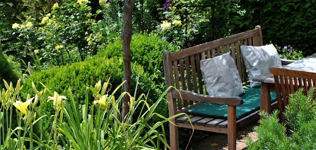 Wetterfeste Gartentextilien