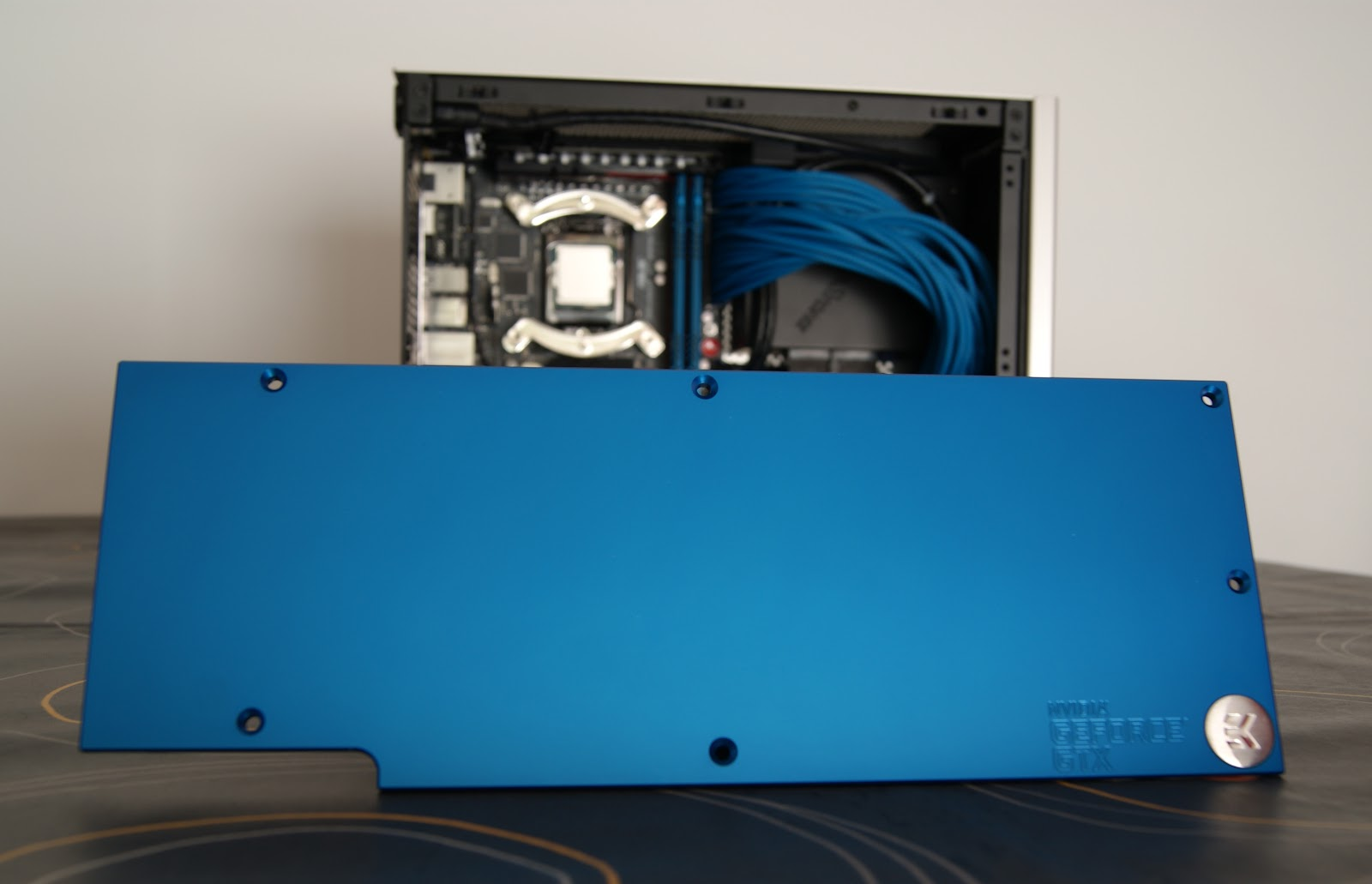 EK-FC780 GTX Backplate blue - Minimax3 by dPunisher