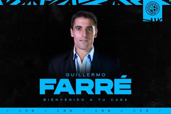 Oficial: Belgrano, firma Guillermo Farré como técnico