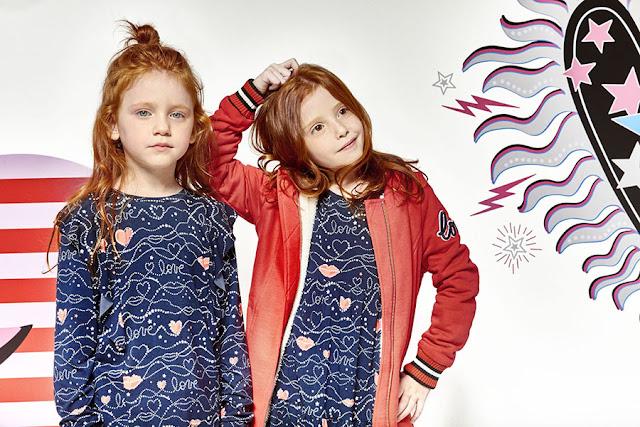 Ropa de moda para el invierno 2018 niñas.