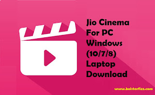 Jio Cinema For PC Windows