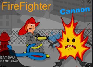 Chơi game chiến đấu với lửa