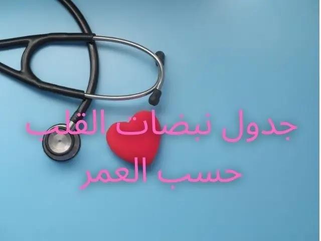 معدل دقات القلب الطبيعي حسب العمر للرجال
