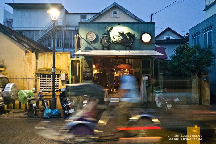 Cafe in Pham Ngu Lao Hue