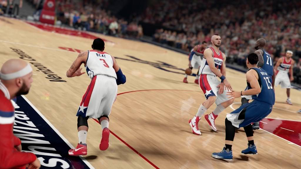 NBA 2K16 Gameplay Improvements