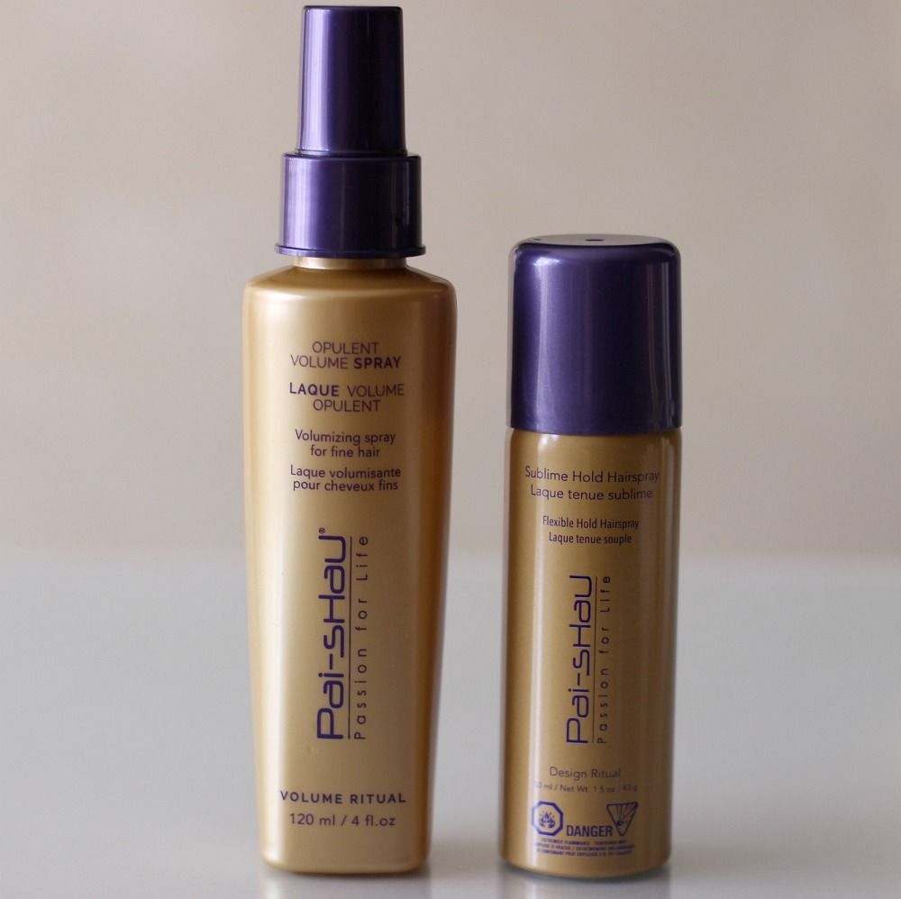 Pai-Shau Opulent Volume Spray Sublime Hold Hairspay
