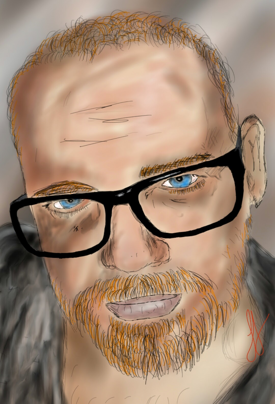 A Digital Art Selfie