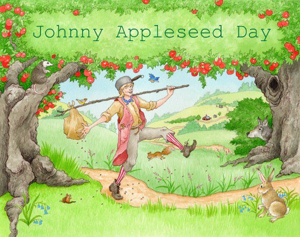 Johnny Appleseed Day Wishes Images