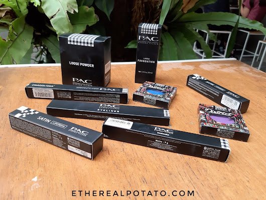 Ethereal Potato - Ellen Lim: [REVIEW] PAC Makeup Products
