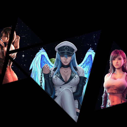 Tifa + Esdeath + Ada Wallpaper Engine