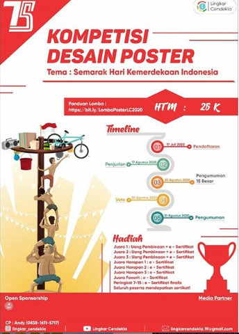 Lomba Poster Lingkar Cendekia 2020