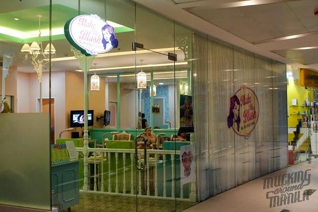 Mucking Around Manila Make Me Blush Nail Spa Beauty Lounge