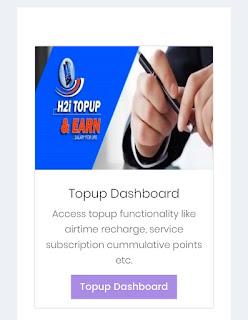 H2i Topupandearn Salary4life Membership Dashboard