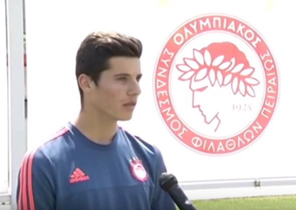 Olympiakos talent - Marius Vrushaj: I want to play for Albania not for Greece