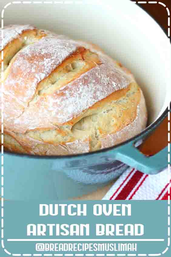 "Dutch Oven Artisan Bread- ""quick"" recipe MY NOTES: My husband and I are now addicted to this bread and I make it at least once a week. Very fast and easy. #Yeast #Bread #Recipes #dessert #fast"