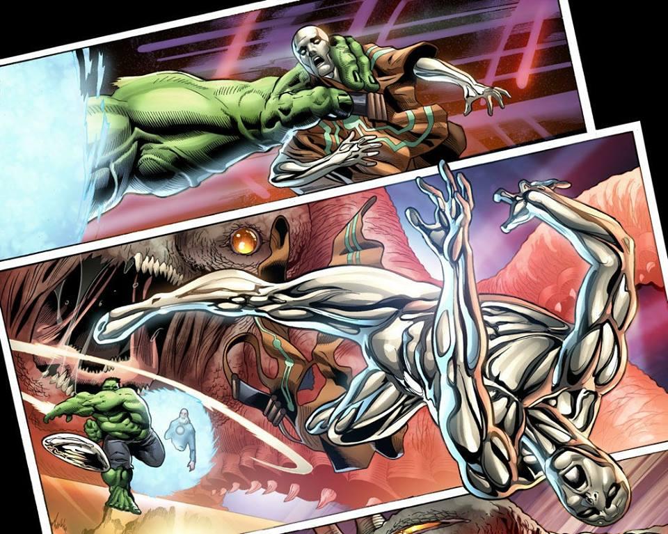 Hero Envy The Blog Adventures Hulk Vs Silver Surfer
