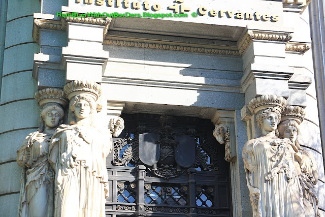 The Cervantes Institute, Calle de Alcala, Madrid, Spain