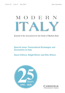 Modern Italy : journal of the Association for the Study of Modern Italy