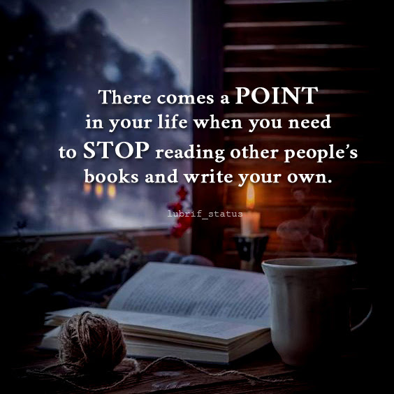 There come a point in your life when you need to stop...read quotes on image