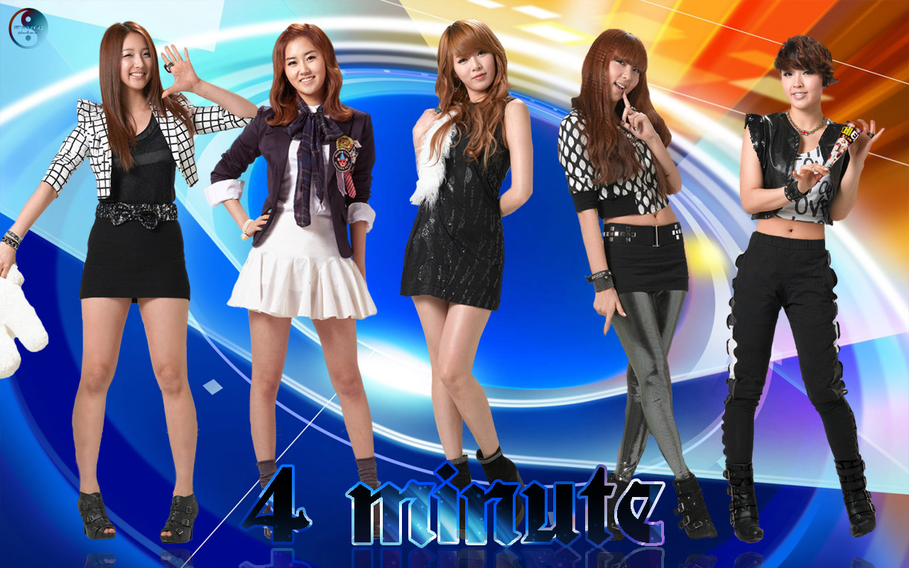 No Girls Wallpaper K Pop Fanclub 4minute