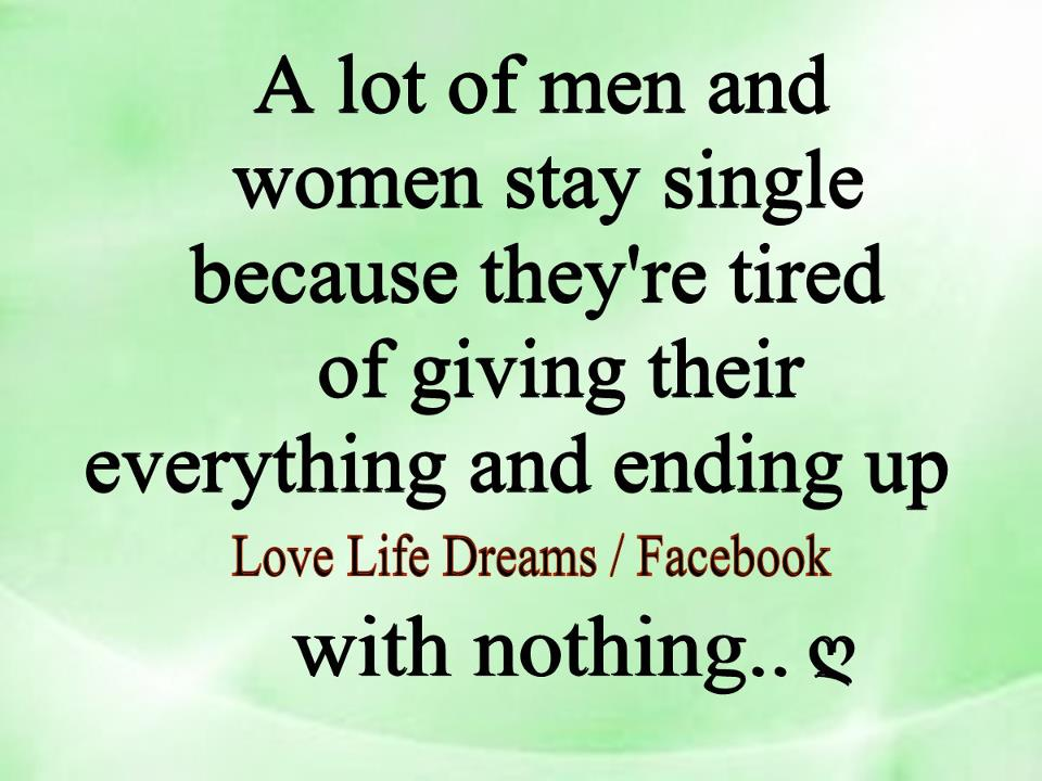 single guy quotes for girls - photo #28