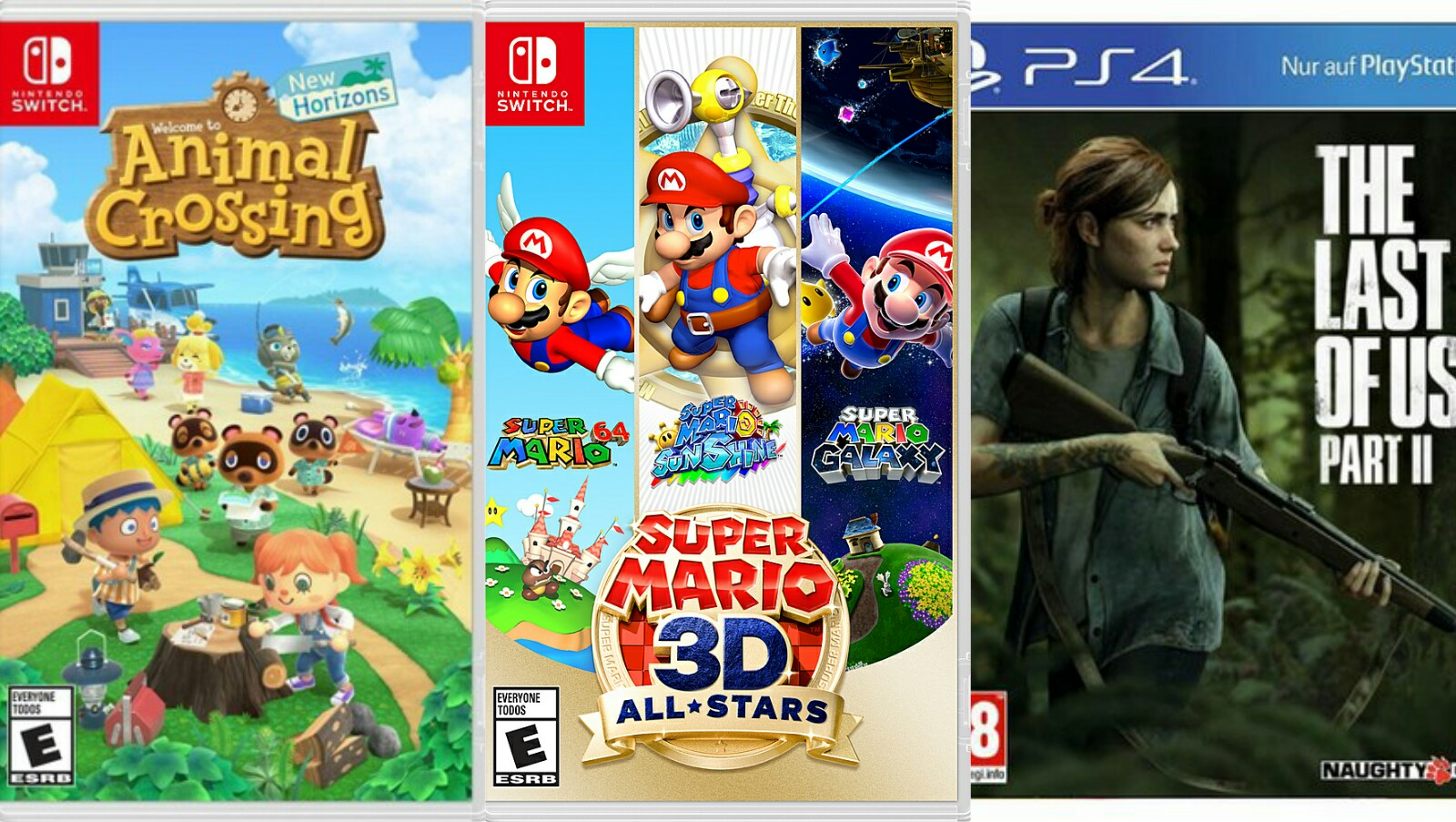Nintendo Dominates Amazon's 2020 Best-Seller List, Topping Cyberpunk 2077, TLOU2 & ACV
