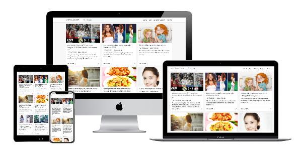 Theme blogspot cá nhân dạng lưới đơn giản dễ sử dụng