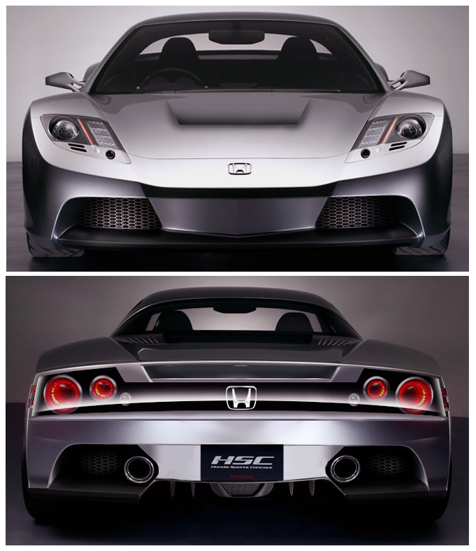 Sports Car: Acura HSC Concept
