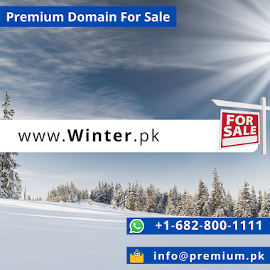 Winter.pk Premium Domain For Sale