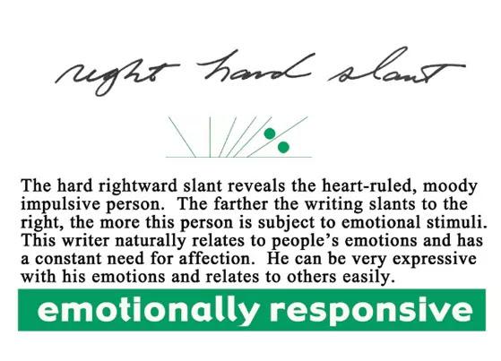 DE, E+ slant sample   Emotionally Responsive   apdaga