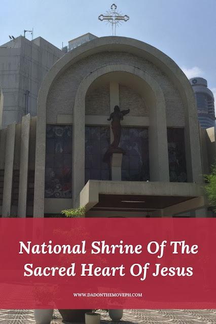 National Shrine Of The Sacred Heart Of Jesus in San Antonio Village, Makati City