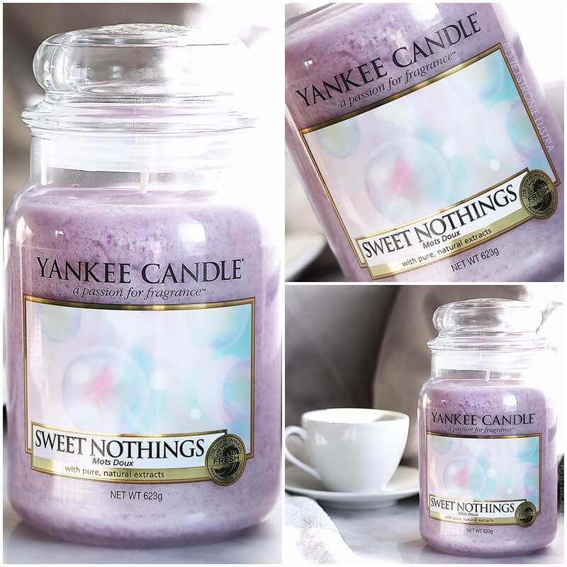 świeca yankee candle sweet nothings