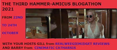 The Third Hammer-Amicus Blogathon, hosted by Gill of Realweegiemidget Reviews and Barry of Cinematic Catharsis!