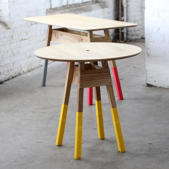 Dipped Furniture Legs: Smartgirlstyle: Dipped Leg Furniture