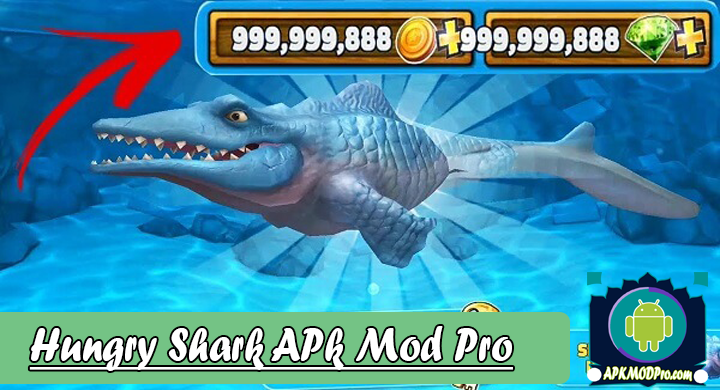 Hungry Shark Evolution 7.1.0 (MOD Unlimited Coins/Gems) Apk Mod Pro Terbaru 2020