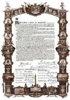 constituţia României 1866