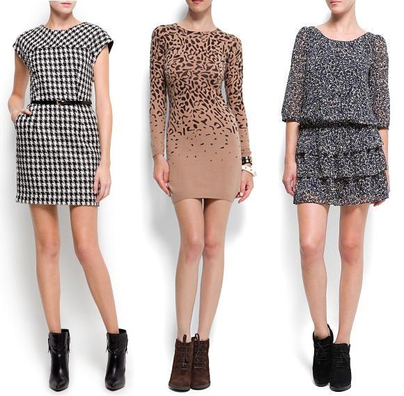 catalogo de vestidos mango otoño invierno 2012 2013