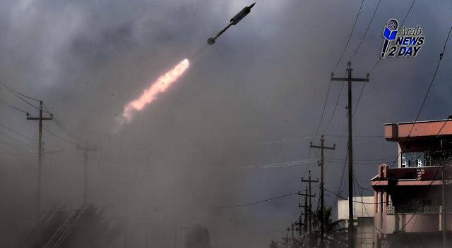 سقوط صواريخ بالقرب من السفارة الأمريكية ببغداد ArabNews2Day