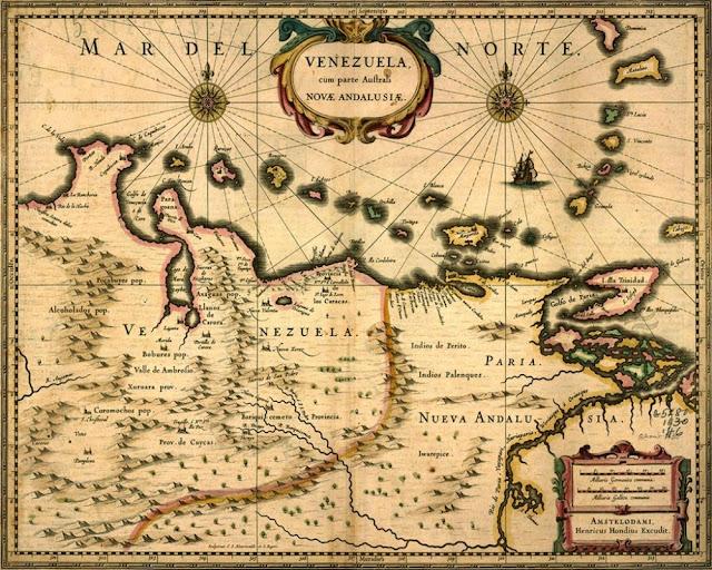 Primer Mapa de Venezuela
