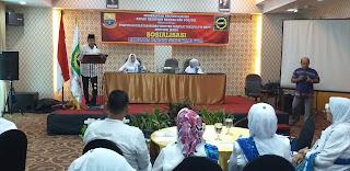 Kaban Kesbangpol Provinsi Jambi Membuka Secara Resmi Sosialisasi Pilkada Damai Serentak.