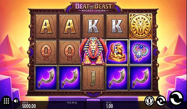 Main Gratis Slot Indonesia - Beat The Beast Mighty Sphinx (Thunderkick)