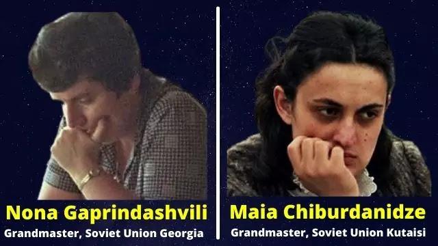 See Gaprindashvili and Maia Chiburdanidze