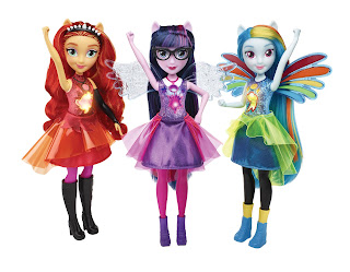 My Little Pony Equestria Girls Friendship Power Dolls