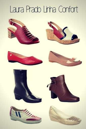 Marca de Calçados Confortáveis Femininos Laura Prado Confort